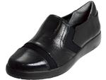 Rockport: Demsa Slip On Black Shiny Leather