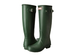 Hunter Boots Original Tall Matte Hunter Green