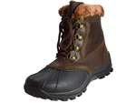 Propet: Blizzard Mid Lace II Brown Nylon