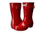 Hunter Boots Original Short Gloss Military Red