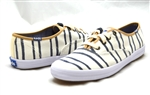 Keds Champion Washed Beach Stripe Off White