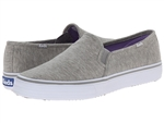 Keds Double Decker Jersey Heather Grey