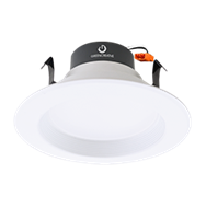 "Green Creative 4"" Residential Downlight, 10 Watt, E26 Base, High CRI, Dimmable, (GU24 Base Available)- View Product"