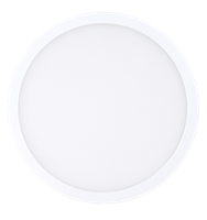 "Green Creative 5.5"" Round Surface Downlight, Edge-Lit, Low Glare, 10 Watt, 120V Dimmable, Wet Location, CLICK Design- View Product"