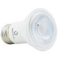 Green Creative PAR 16, 6 Watt, E26 Base, 120V Dimmable, White Standard Finish- View Product