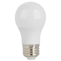 Halco Omni-Directional A15 Bulb, Frosted Lens, 5.5 Watt, E26 Base, 3000K, Dimmable-View Product