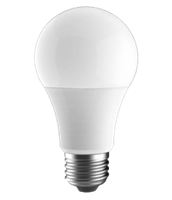 LEDone A19 Bulb, Dimmable, 9 Watt Replaces 60 Watt, A19-60WE-9WD27K - View Product.