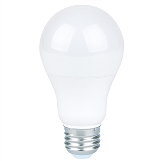 Halco Omni-Directional A19 Bulb, Frosted Lens, 6 Watt, E26 Base, 3000K-View Product