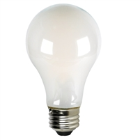 Halco Decorative A19 Filament Bulb, Frosted Glass, 9 Watt, E26 Base, Dimmable-View Product
