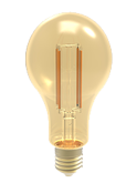 LEDone A23 Clear Lens Filament Bulb, 5 Watt, E26 Base, 120 Volt Dimmable, Replaces 60 Watt, A23-60WE-5WD22K-FIL- View Product