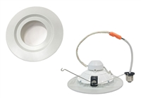 Aleddra LED Sure Fit, 6 Inch Lensless Downlight, 12 Watts - View Product