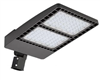 Aleddra LED Slim Shoebox Area Light with Slipfitter, 100 Watts, NEMA 5 Pin Receptacle-View Product