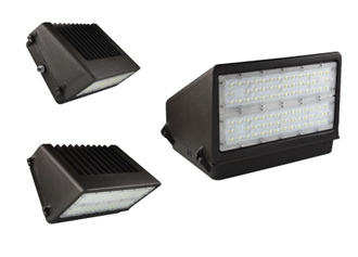 Aleddra LED Full-Cutoff Wall Pack, 40 Watts- View Product
