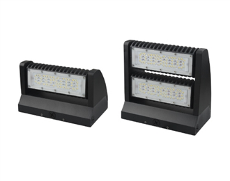 Aleddra LED Rotatable Wall Pack, 80 Watts- View Product