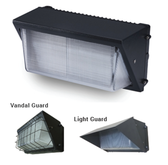 Aleddra LED Quick Mount Wall Pack, 40 Watts, Built-in Photocell- View Product