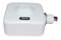 LED Lighting Wholesale Inc. Bi-Level Programmable Motion Sensor with 1/2 Inch Knuckle, Exterior- View Product