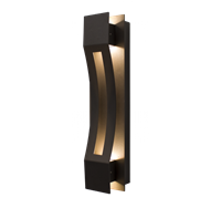 WestGate Crest Sconces, 10 Watt, Curve Trim, Bronze Finish, 4000K, CRE-04-40K-BR- View Product