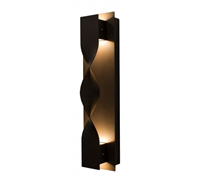 WestGate Crest Sconces, 10 Watt, Crush Trim, Bronze Finish, 3000K, CRE-08-30K-BR- View Product