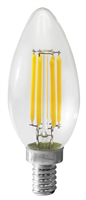 WestGate Candelabra Bulb, 5 Watt, Dimmable, 2700K- View Product