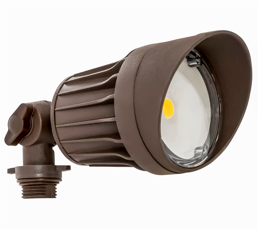 Westgate Weatherproof Led Bronze Flood Heads 10 Watt 5000k Fls 10w 50k Br