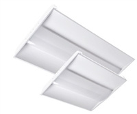 Alphalite Volumetric Troffer, 2x4 Foot, 46 Watt, Center Diffuser, Dimmable- View Product