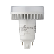Light Efficient Design Vertical Mount PL Replacement, 12 Watt, G24Q Retrofit, Type A/B Universal-View Product