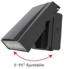 LEDone Outdoor LED Adjustable Wall Pack, 30 Watt, IP 65, 5000K View Product.