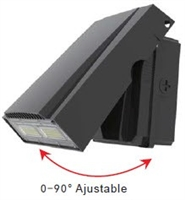 LEDone Outdoor LED Adjustable Wall Pack, 50 Watt, IP 65, 5000K- View Product.