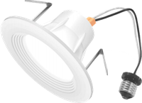 LEDone Recessed Down Light, 4 Inch, 10 Watt, Dimmable, Damp Location Rated- View Product