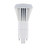 Halco Plug-In PL V Bulb, 10 Watt, G24d/G24q Base, Bypass, 3500K -View Product