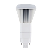 Halco Plug-In PL V Bulb, 10 Watt, G24d/G24q Base, Bypass, 5000K -View Product