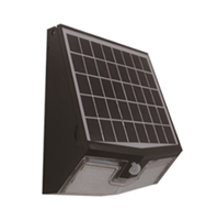 Light Efficient Design Solar Wall Pack, 7 Watt, LiFePO4-View Product