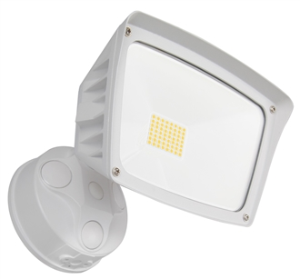 WestGate Security Lights, 28 Watt, 3000K, White Finish, SL-28W-30K-WH-D- View Product