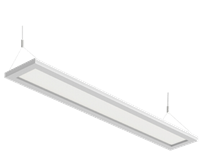 WestGate 4 Foot, LED Up/Down Suspended Panel Light, Dimmable, 40 Watts, 3500K- View Product