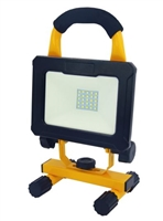 WestGate LED Portable Work Light, 10 Watt, Optional Solar Charger, 5000K, WL-EZCG-10W-50K-View Product