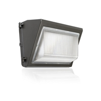ATG ELECTRONICS eLucent WPDS G3 Wall Pack, Dark Sky, 40 Watt, Dimmable, Glass Lens, IP65- View Product