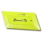 Diamond Tip Yellow Card