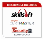 Skillsoft/CompTIA CertMaster Security+ Exam Bundle