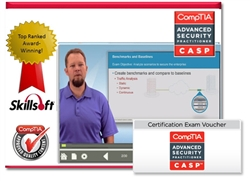 Skillsoft CASP (CAS-002) Courseware Bundle