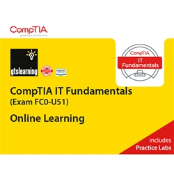 CompTIA IT Fundamentals (Exam FC0-U51) Online Learning + Online Practice Labs