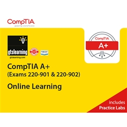 CompTIA A+ (Exams 220-901, 220-902) Online Learning + Online Practice Labs