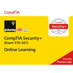 CompTIA Security+ (Exam SY0-501) Online Learning + Live Practice Labs