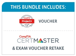 Save 48% on the CompTIA Project+ Deluxe Bundle