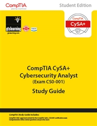 CompTIA Cybersecurity Analyst CSA+ (Exam CS0-001) Student Edition