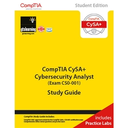 CompTIA Cybersecurity Analyst CSA+ (Exam CS0-001) Student Edition eBook + Live Practice Labs