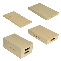 Set of Four Apple Boxes