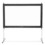 "Projection Screen 144"" Portable Indoor/Outdoor 16:9"