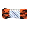 "Neon Orange Plaid Fat 72"" Laces"