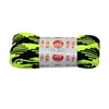 "Neon Plaid Yellow Fat 72"" Laces"