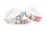 Birthday Cake Wristband (500pk)